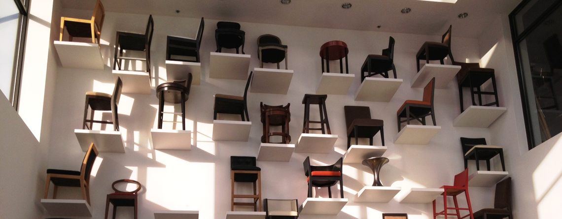 Wall of Chairs